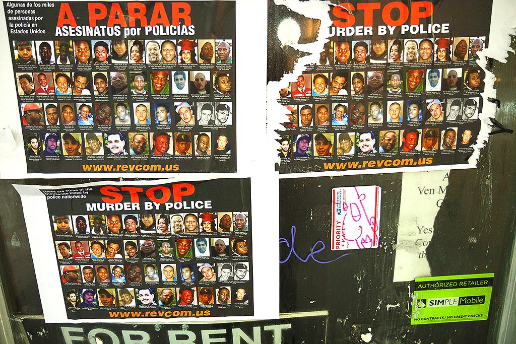 STOP MURDER BY POLICE--Italian Market