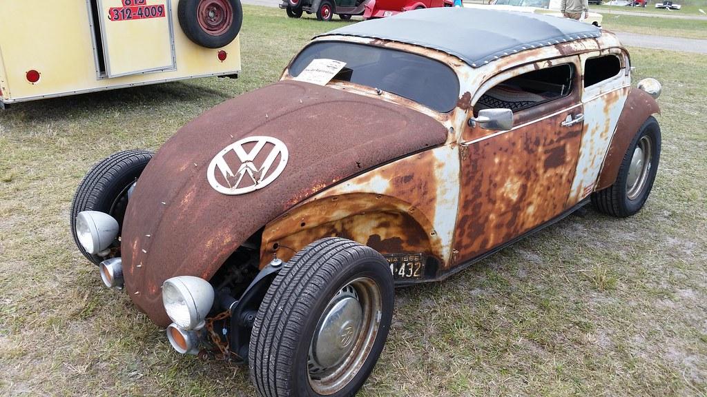 Zephyrhills Car Show: 1970 Volkswagen Beetle Rat Rod
