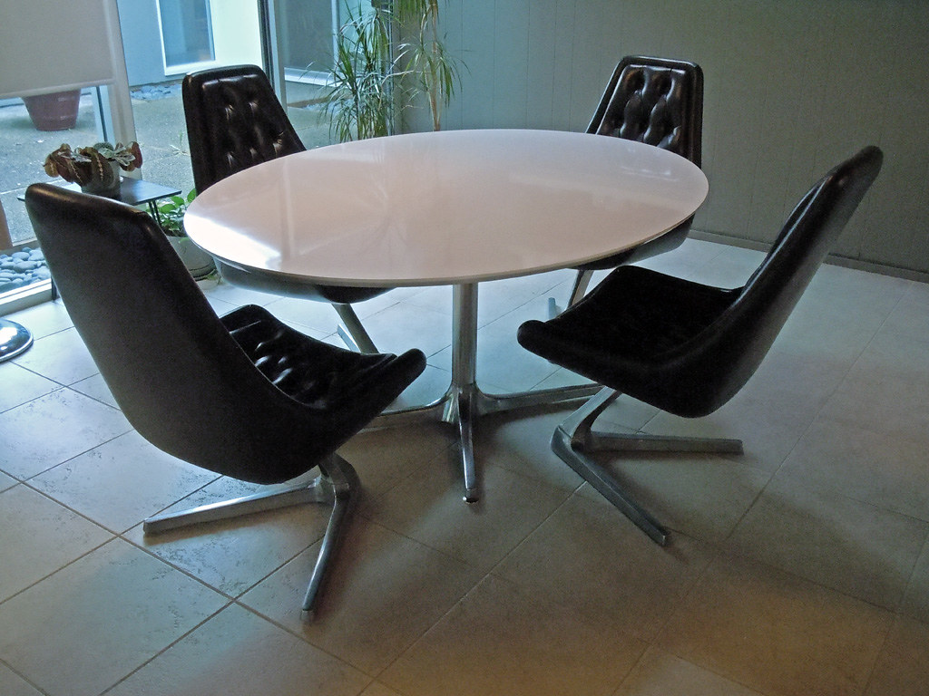 Chromcraft Sculpta Chairs (a.k.a Star Trek Chairs) | Flickr