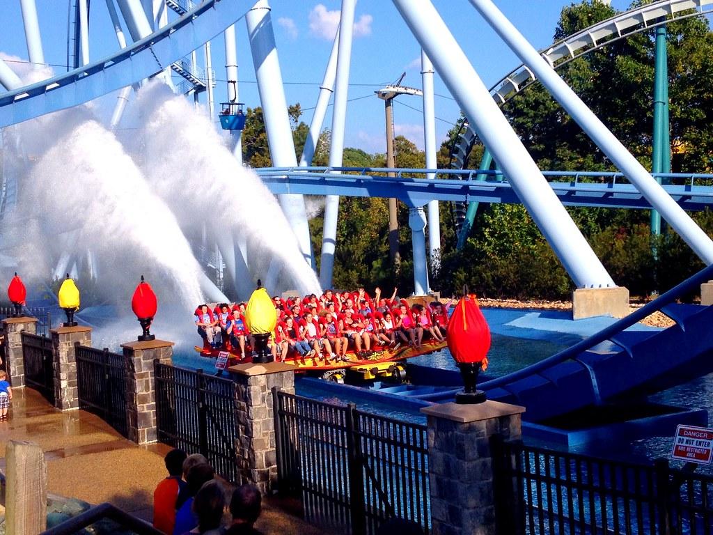 Griffon Splashdown Busch Gardens In Williamsburg Va