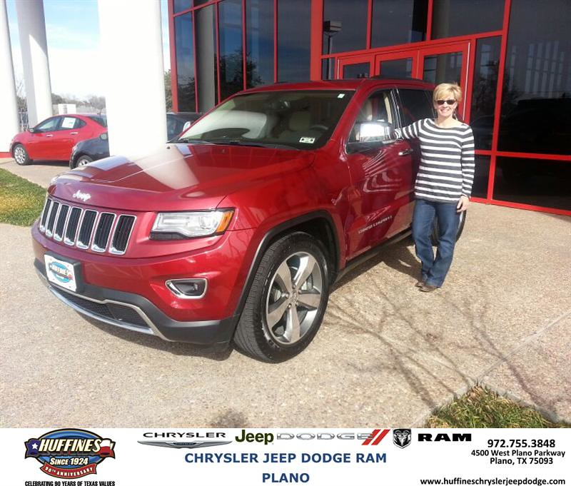 Thank You To Donna Weber On Your New Jeep Grand Cherokee