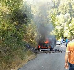 incendio furgone sicignano 03