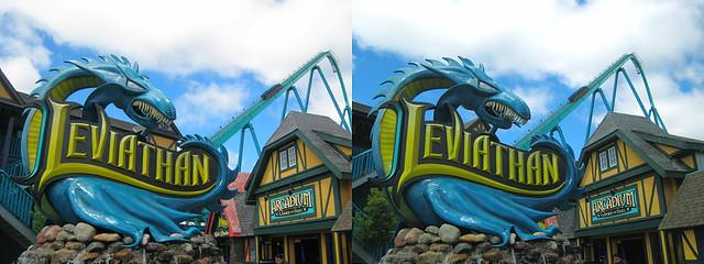 Canada's Wonderland - Leviathan 3D Stereogram | Flickr ...