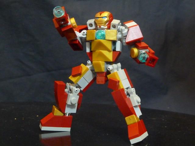 Iron Man HeartBreaker Lego Midifigure | Flickr - Photo ...