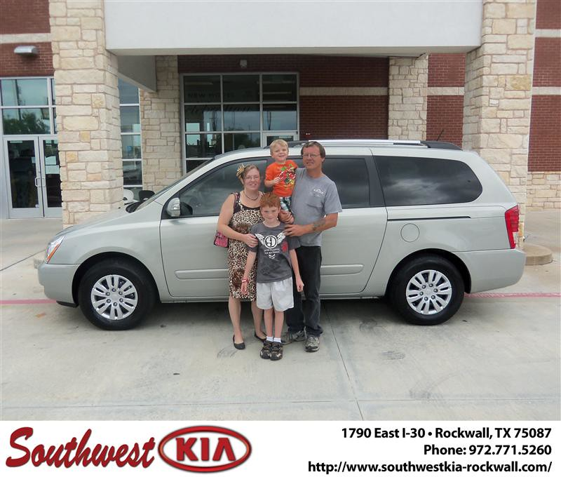 Happy Anniversary To Barbara Stewart On Your 2012 Kia Sedo