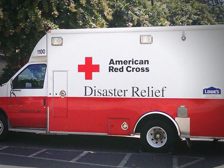 American red cross truck   Carissa Rogers   Flickr