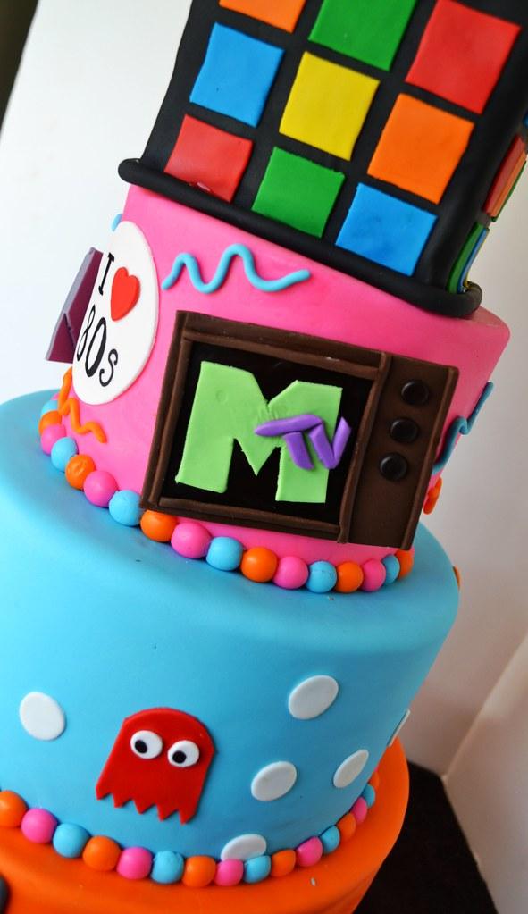 D Pacman Cakes