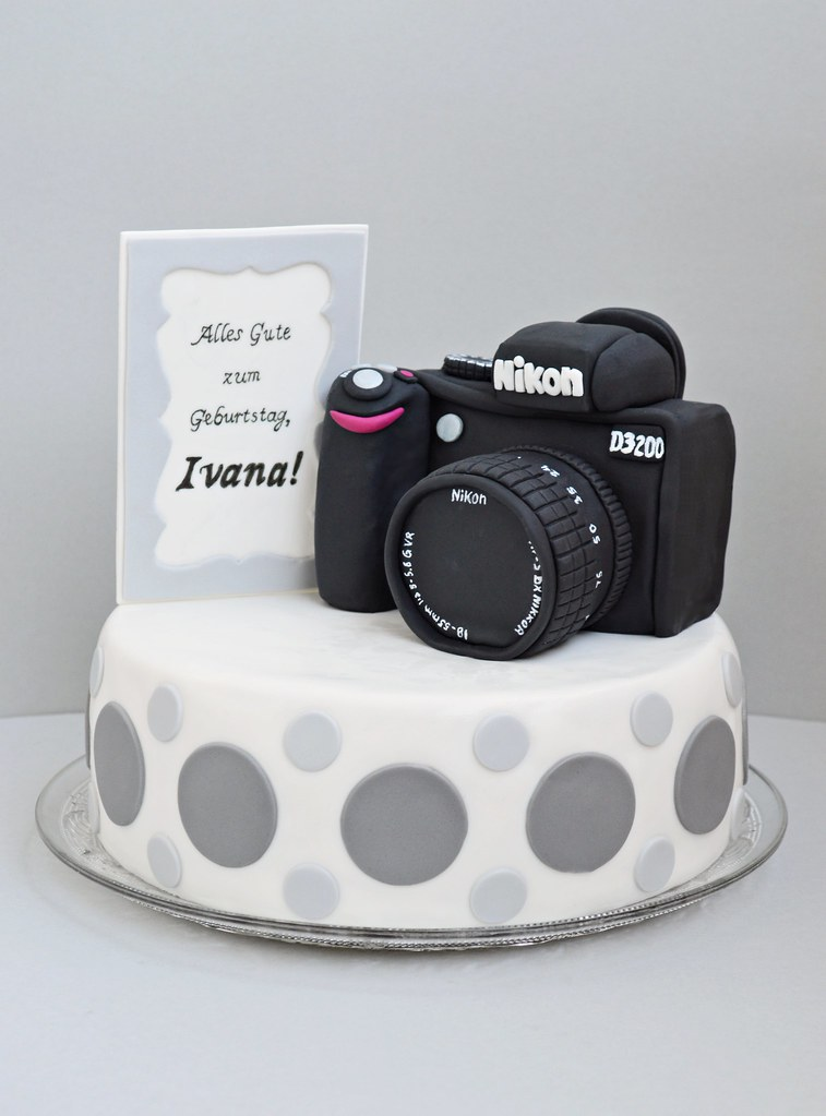 Birthday Camera Cake Canon