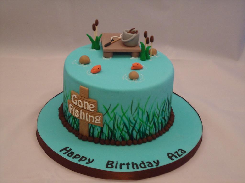 Gone Fishing Cake Images