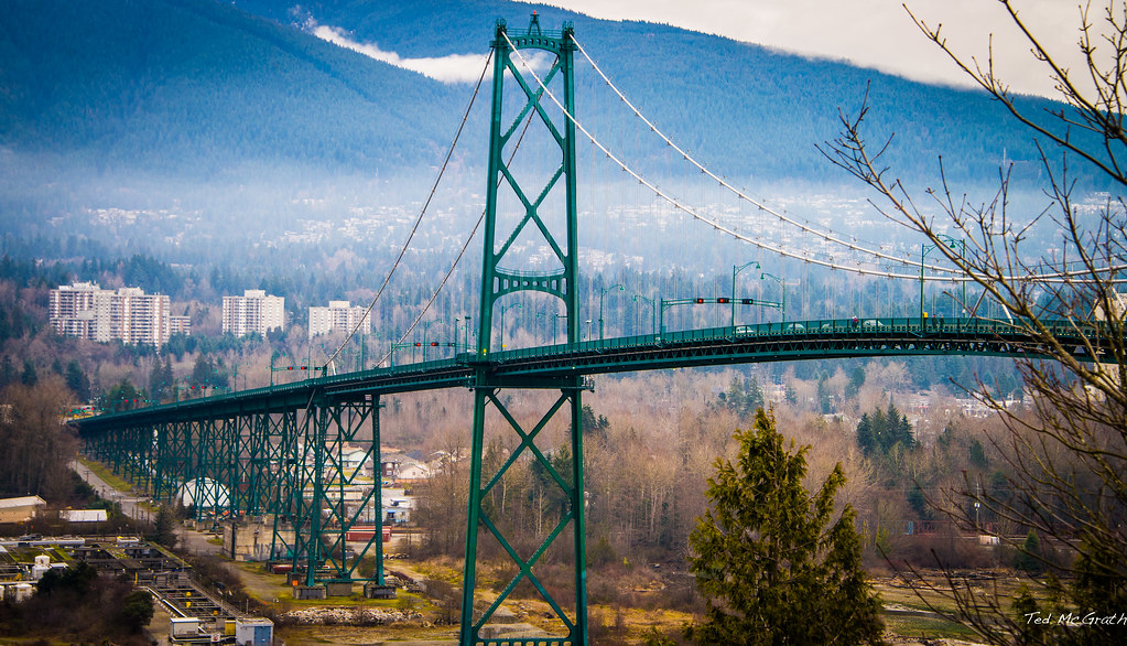 how to get to buchart from north vancouver bc