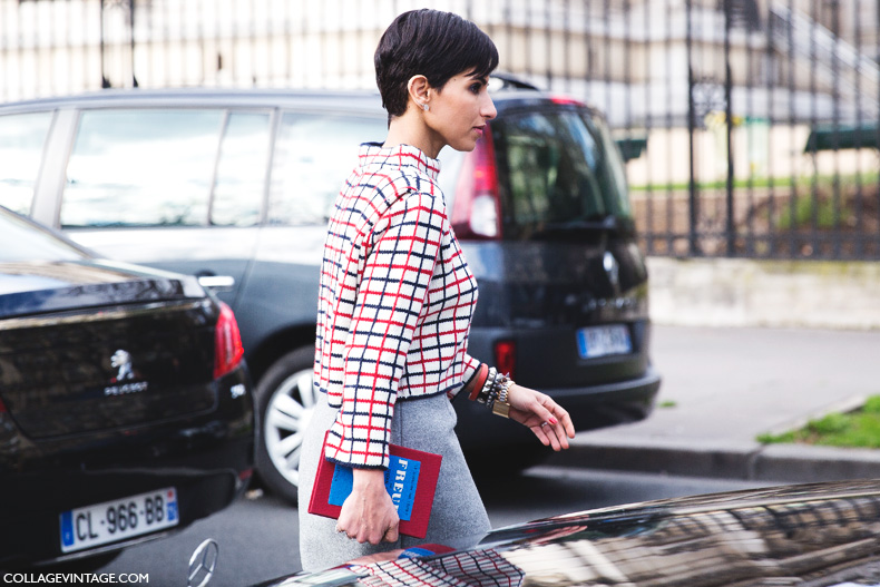 Paris_Fashion_Week_Fall_14-Street_Style-PFW-Checked_Top-