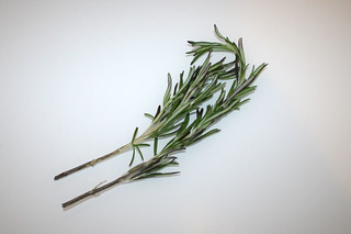 19 - Zutat Rosmarin / Ingredient rosemary