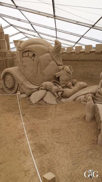 Swinemünde Sand Skulpturen Festival 201554