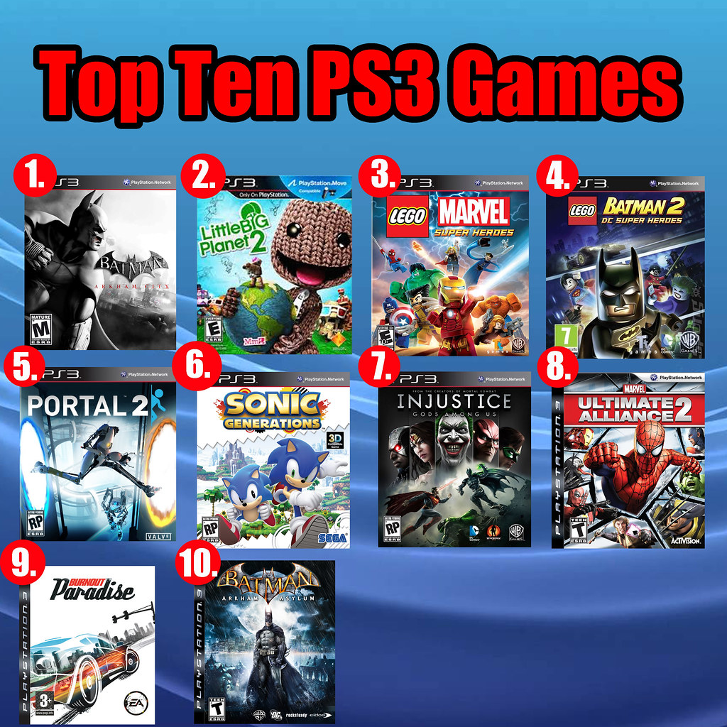 Top Ten PS3 Games | Here are my ten favorite games from ...
