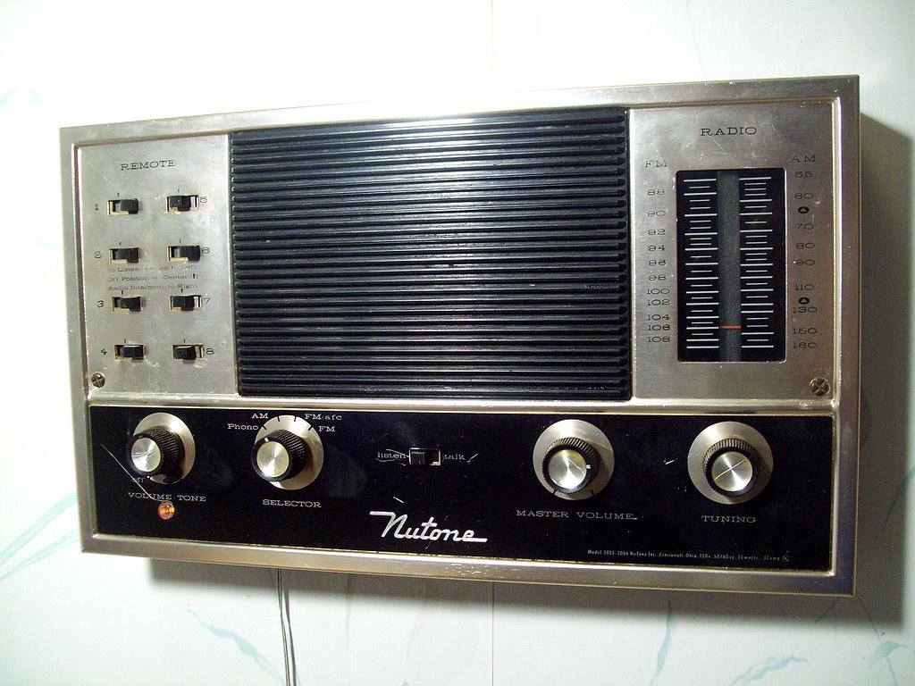 Nutone Model 2055 2056 Radio Intercom Master The Nutone