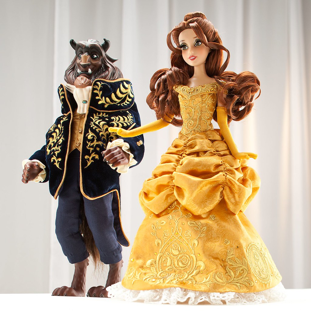 beauty and the beast limited edition dolls uk disney sto