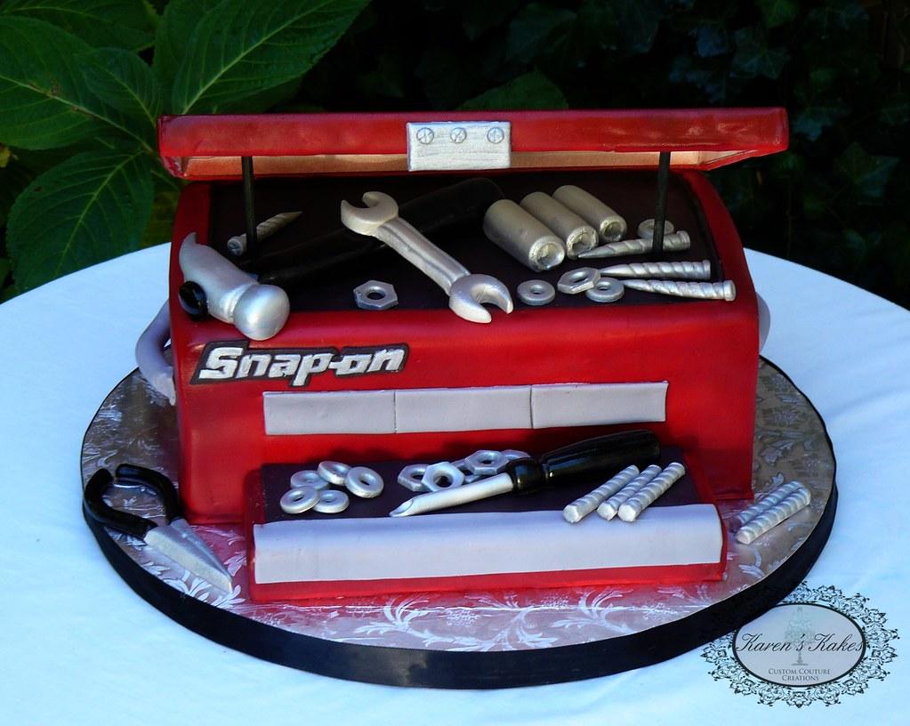 grooms cake snap on tools toolbox karen hedge flickr. Black Bedroom Furniture Sets. Home Design Ideas