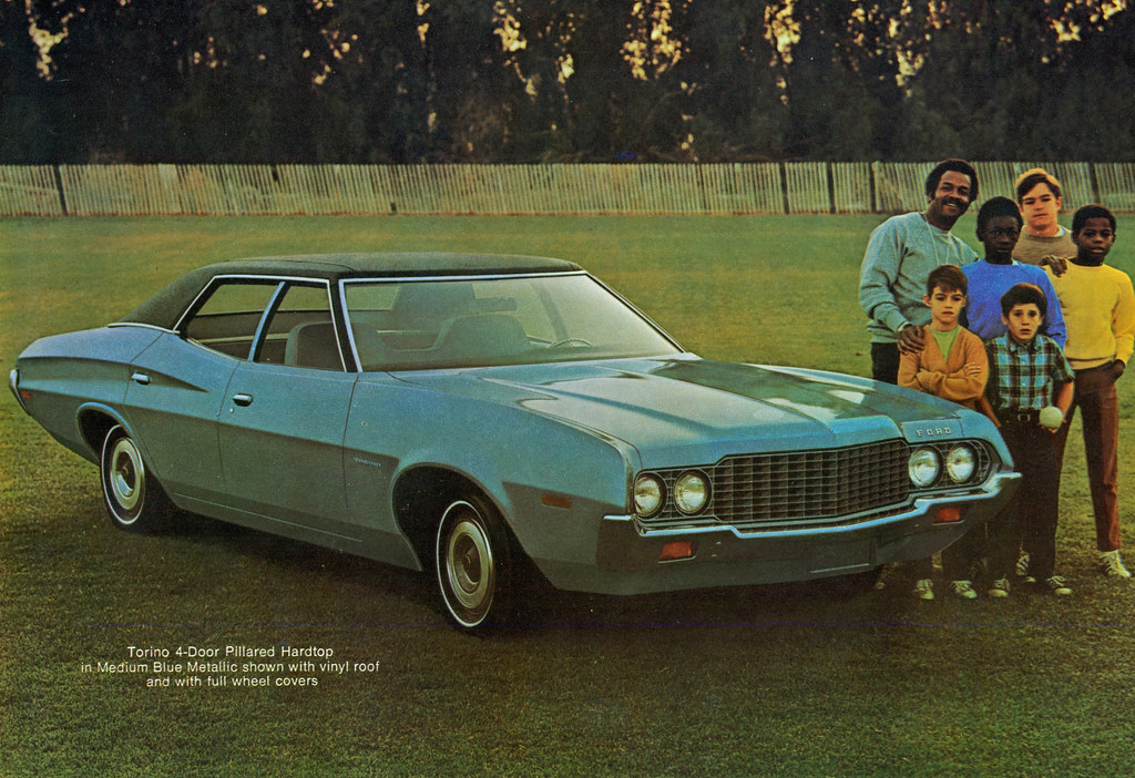 New Ford Torino >> 1972 Ford Torino 4 Door Pillard Hardtop | coconv | Flickr