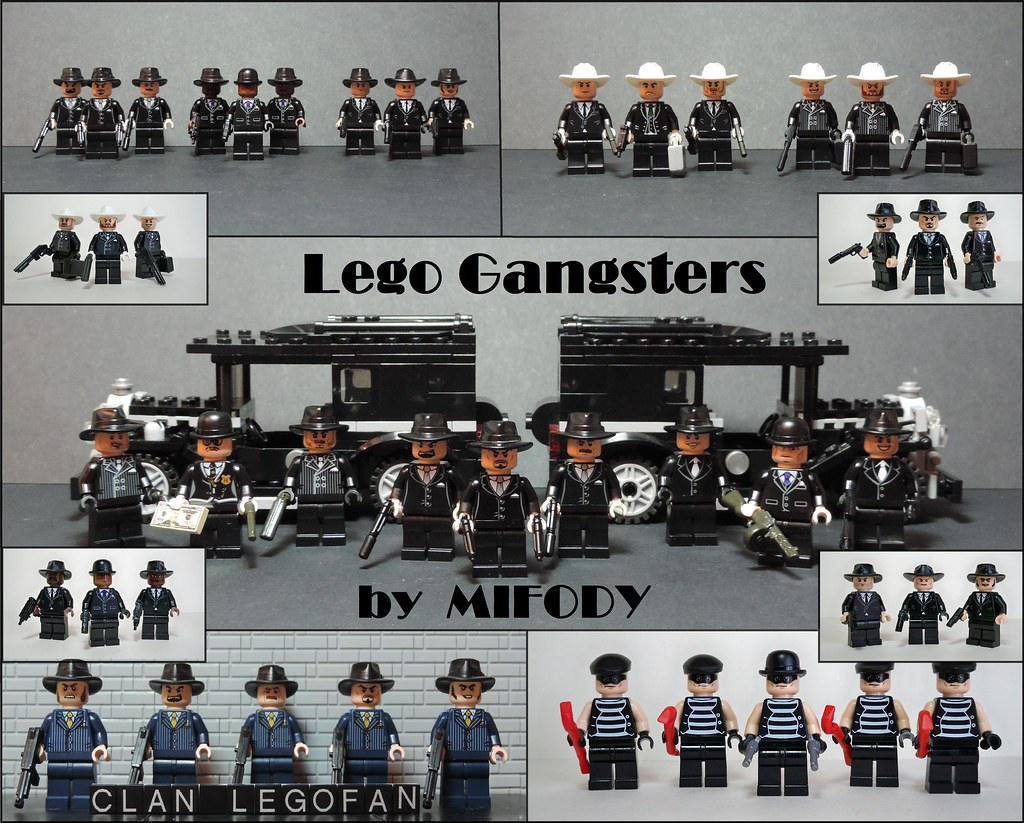 Lego Gangsters You Will Be Able To Find Even More Photos