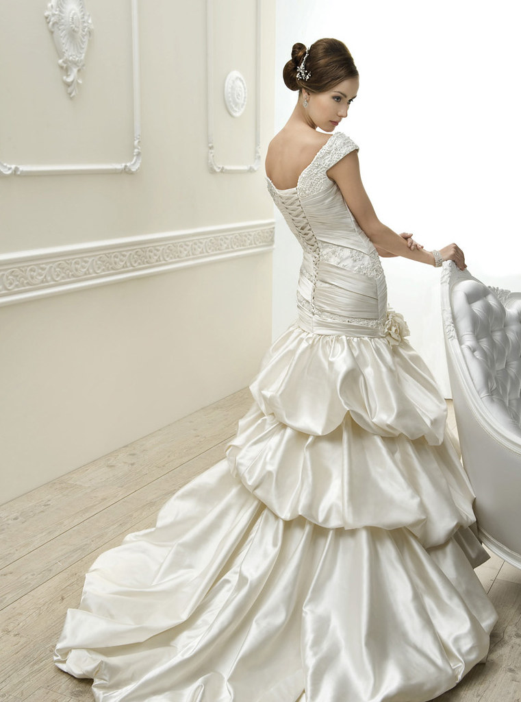 I Want To Be The Bride Gorgeous Satin Cosmobella Wedding Flickr