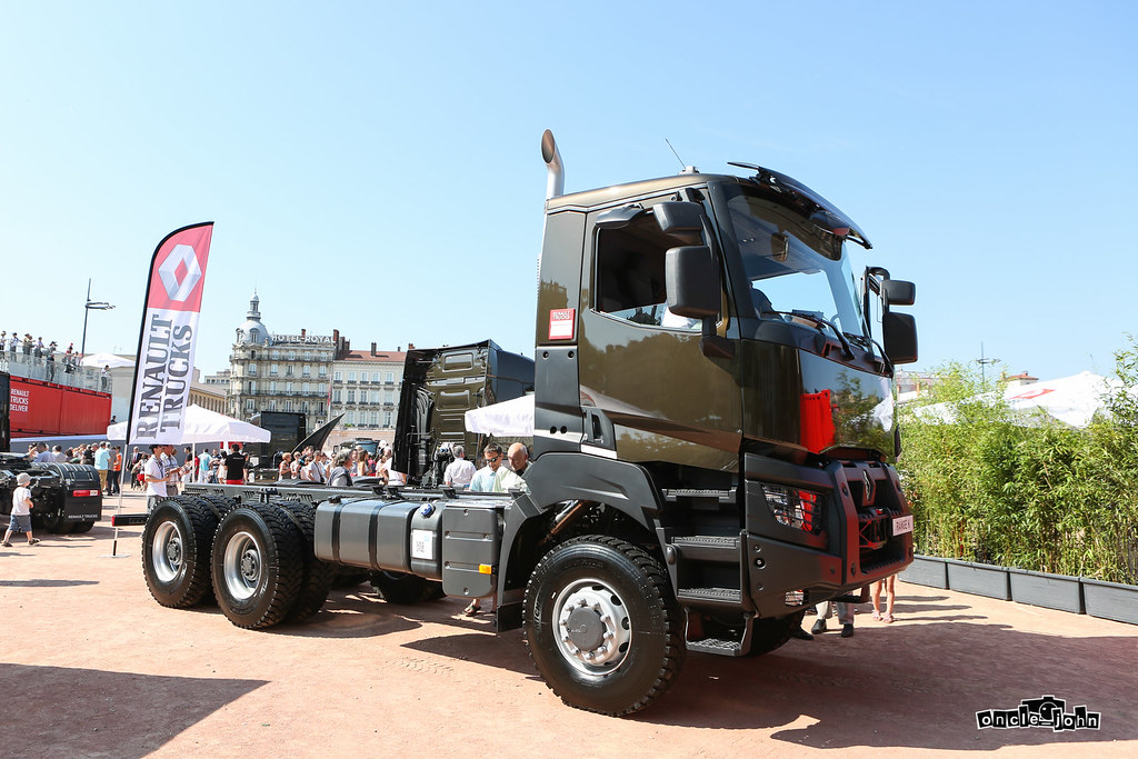 renault trucks k truck de ouf pr sentation de la. Black Bedroom Furniture Sets. Home Design Ideas