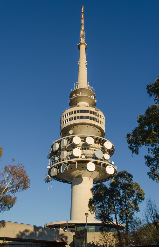 telstra tower canberra opened in 1980 originally known. Black Bedroom Furniture Sets. Home Design Ideas