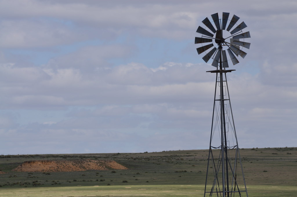 Windmill on the Prairie | Submitted by Amanda Wessel, 32