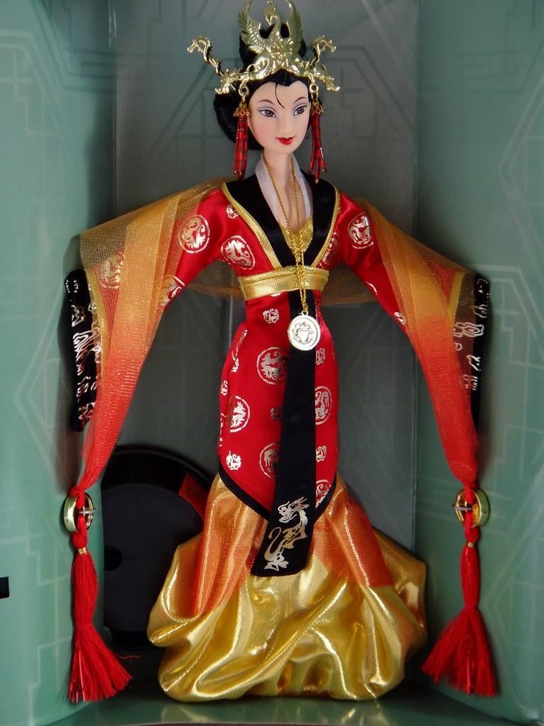 Imperial Beauty Mulan Mattel 1998 Disney Collector Do