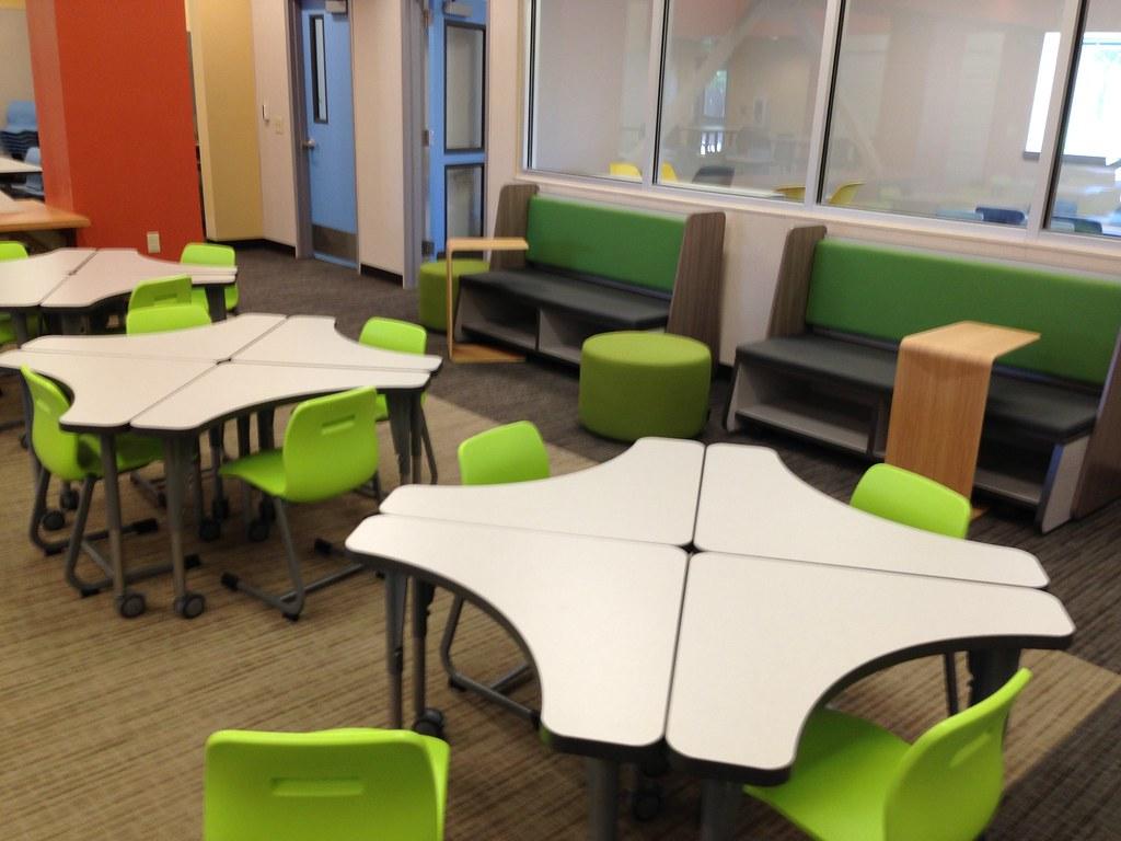 Innovative Classroom Seating ~ Musd installation spangler learning center vanerum