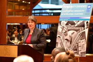 "Launch of UNDP Report ""Humanity Divided - Confronting Inequality in Developing Countries"" 