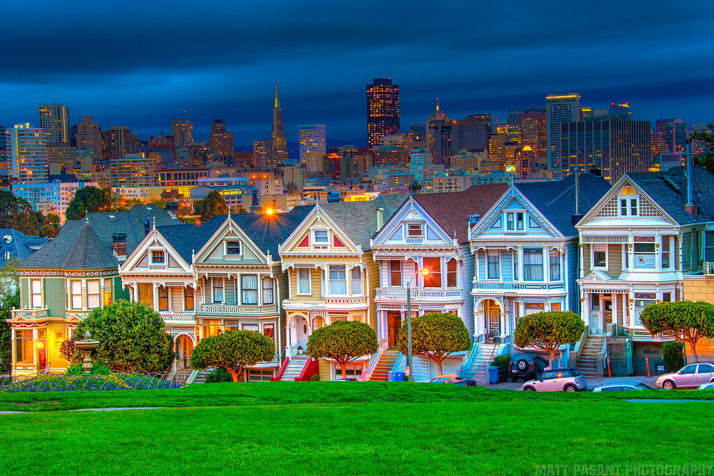 The Painted Ladies San Francisco One Of The Best Known