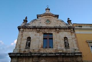 Noicattaro. La Chiesa del Carmine front