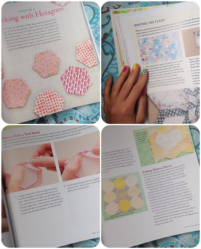 A few pages from the book: all points patchwork by Diane Gilleland