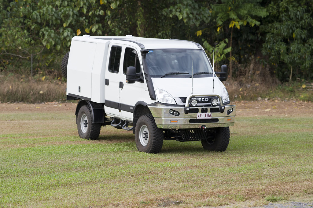 iveco daily 4x4 expedition truck before i got it dirty i flickr. Black Bedroom Furniture Sets. Home Design Ideas