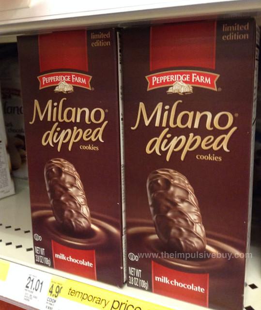 Milano Chocolate Cookies Ingredients