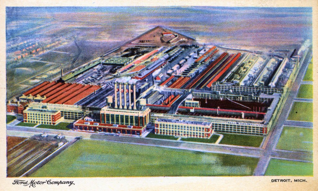 Ford Motor Company River Rouge Plant Detroit Mi The