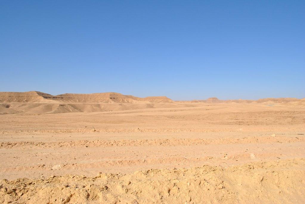baren desert landscape...