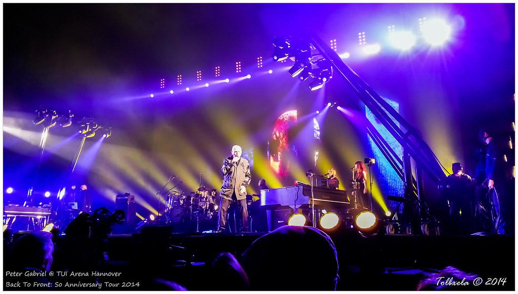 Peter Gabriel Tour Manager