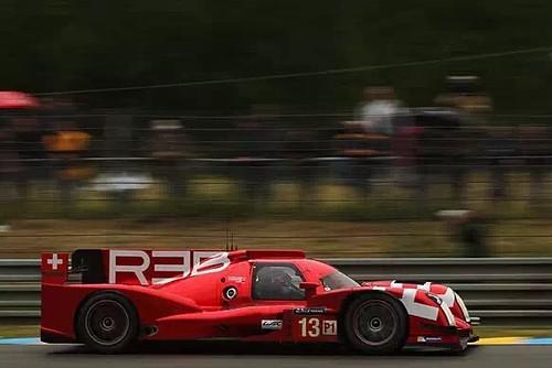 Alex' LMP1 car at Le Mans