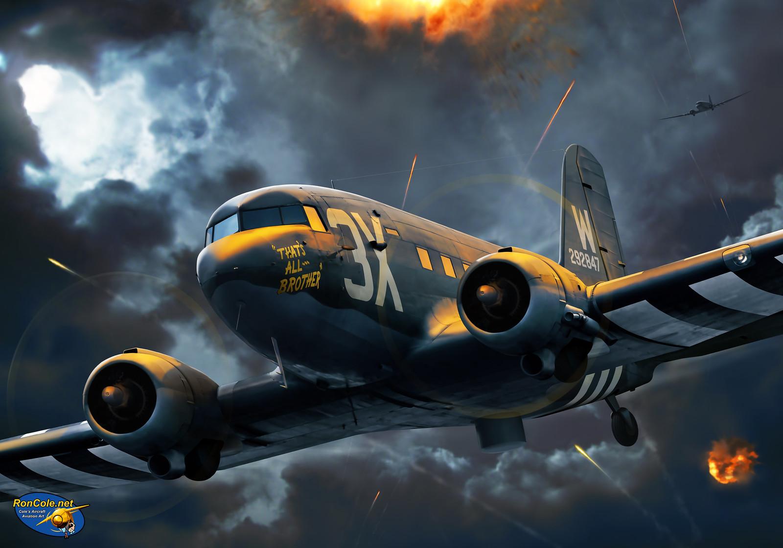 рисунок C-47 'That's All Brother'
