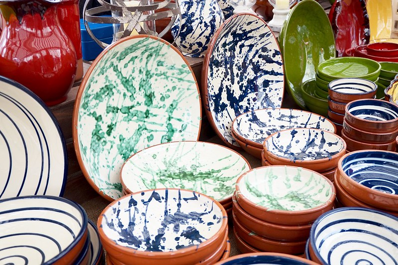ceramic pottery giant bowls