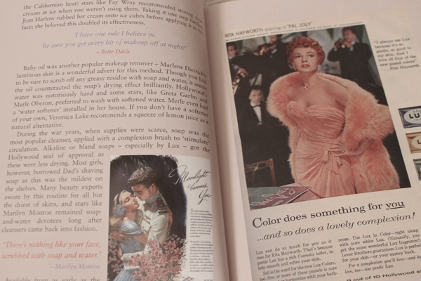 vintage beauty book