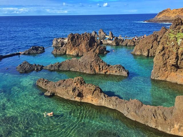 Piscinas naturales de Porto Moniz (Madeira)