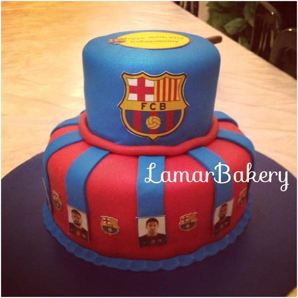 Messi Birthday Cake