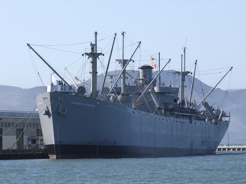 Hansa S81 1/1250 Liberty ship 8997323453_903a096fb3_c