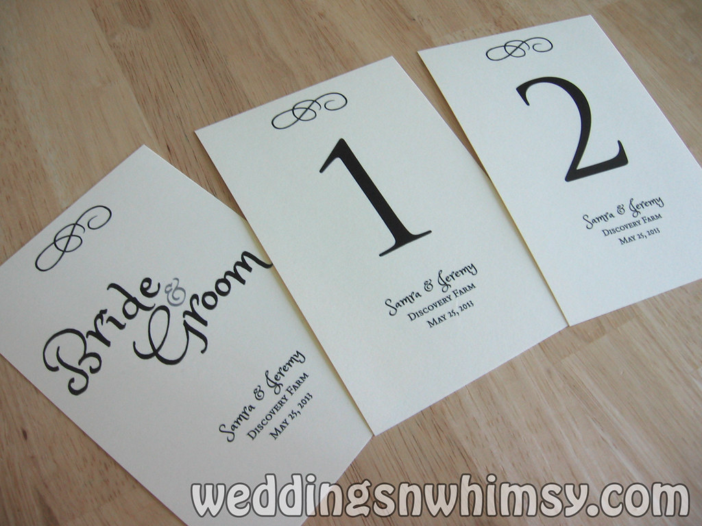 Rustic Wedding Custom Table Numbers Sign Cards Personalize