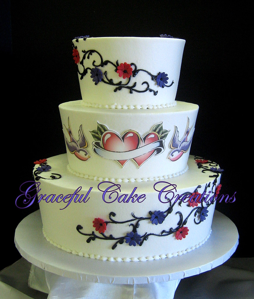 wedding cakes with hearts on them white butter wedding cake with 26039