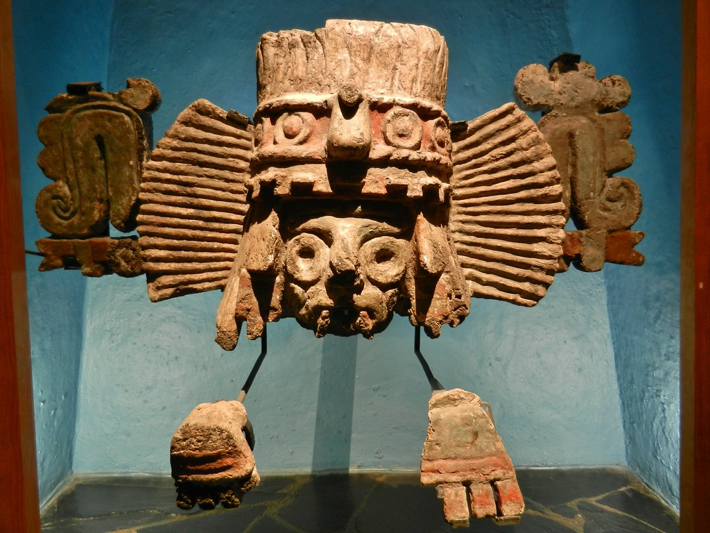 brasero tlaloc this is a representation of the god of