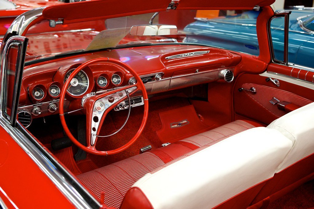 1960 chevrolet impala convertible antique car dashboard an flickr. Black Bedroom Furniture Sets. Home Design Ideas