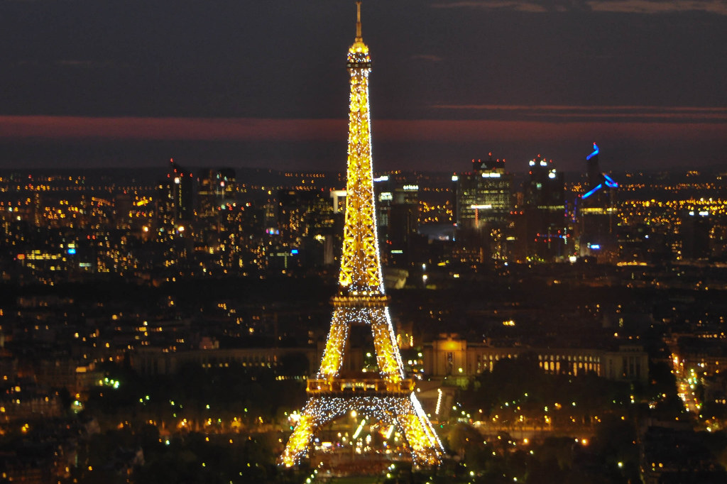 restaurante le ciel de paris vistas de la torre eiffel flickr. Black Bedroom Furniture Sets. Home Design Ideas
